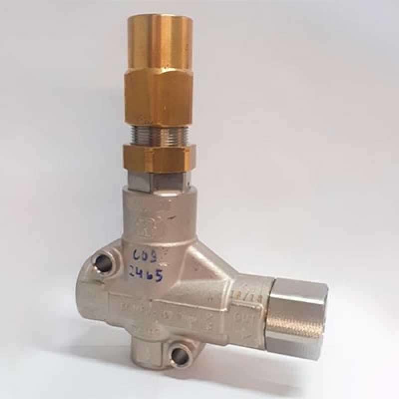 Válvula Reguladora de Pressão D'água Jandira - Válvula Reguladora de Pressão para água